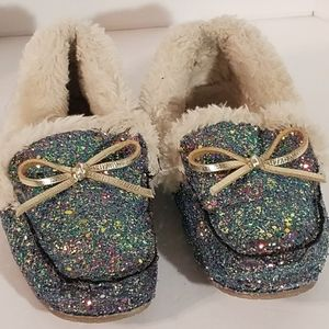 Glittery Slippers Size 2/3